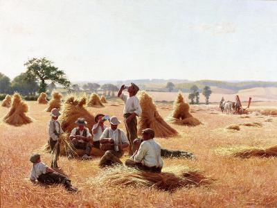 Harvesters Resting, 1898-Thomas Frederick Mason Sheard-Giclee Print