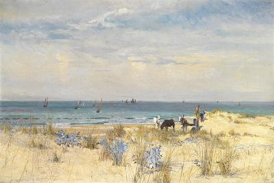 Harvesting the Land and the Sea, 1873-William Lionel Wyllie-Giclee Print