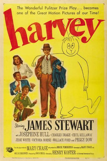 Harvey, 1950, Directed by Henry Koster--Giclee Print