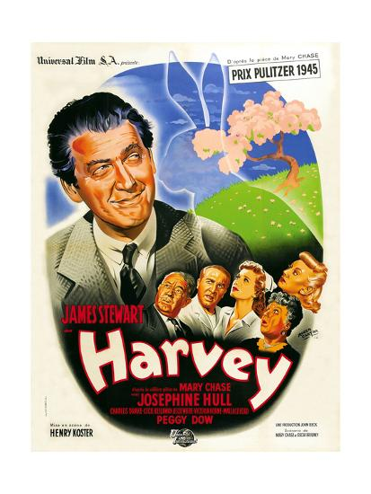 Harvey, French Poster Art, 1950--Giclee Print