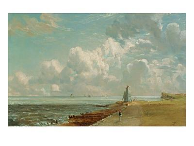 Harwich, the Low Lighthouse and Beacon Hill, c.1820-John Constable-Giclee Print