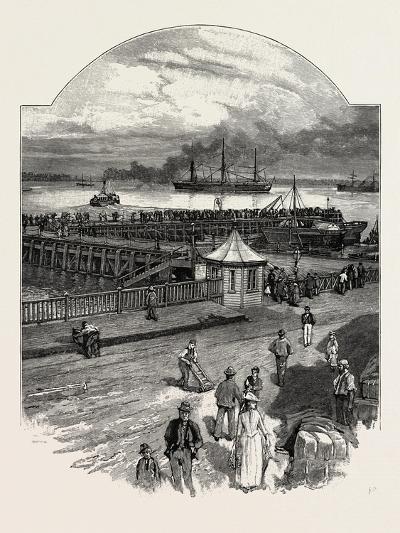 Harwich: the Quay--Giclee Print