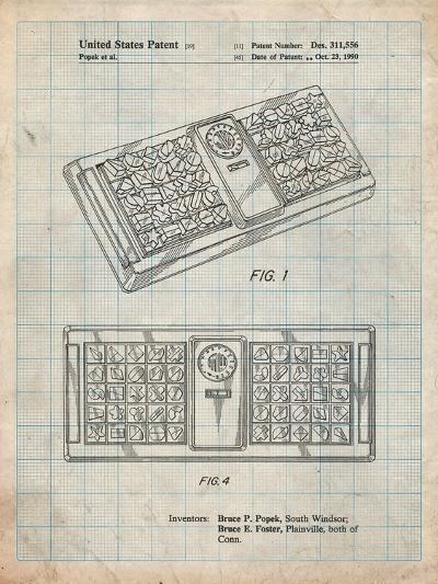 Hasbro Concept Game Patent-Cole Borders-Art Print