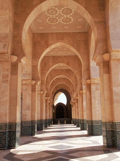 Hassan II Mosque, Casablanca, Morocco-Michele Burgess-Photographic Print
