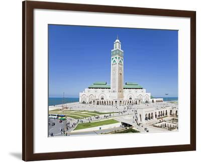 Hassan II Mosque, the Third Largest Mosque in the World, Casablanca, Morocco, North Africa, Africa-Gavin Hellier-Framed Photographic Print