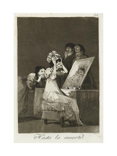 Hasta La Muerte, 1799-Francisco de Goya-Giclee Print