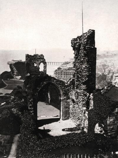 Hastings Castle, Sussex--Giclee Print