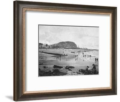 'Hastings Old Town and Beach', c1896-Carl Norman-Framed Photographic Print