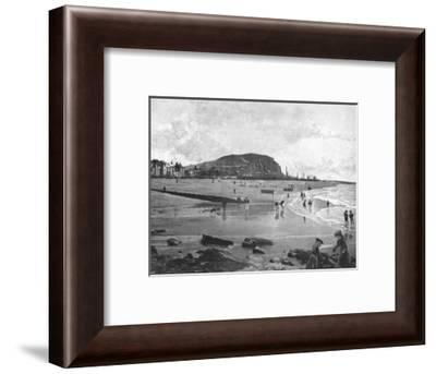 Hastings, Old Town and Beach, c1900-Carl Norman-Framed Photographic Print