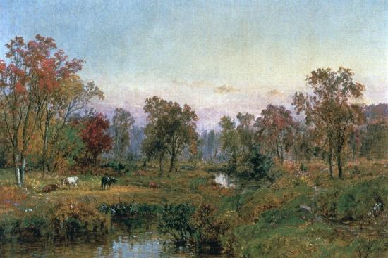 Hastings-On-Hudson, 1885-Jasper Francis Cropsey-Giclee Print