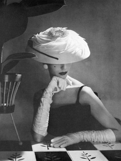Hat from Liberty, 1956--Photographic Print