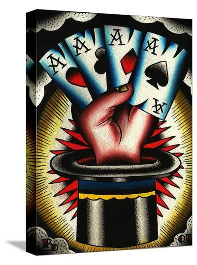 Hat Trick-Ryan Downie-Stretched Canvas Print