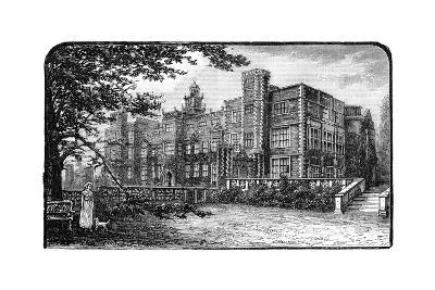 Hatfield House, Herfordshire, 1900--Giclee Print