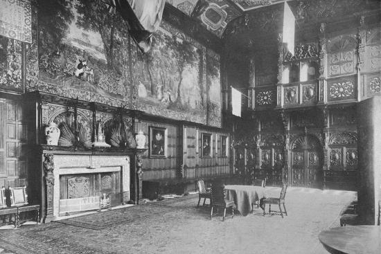 'Hatfield House, Herts - The Marquis of Salisbury', 1910-Unknown-Photographic Print