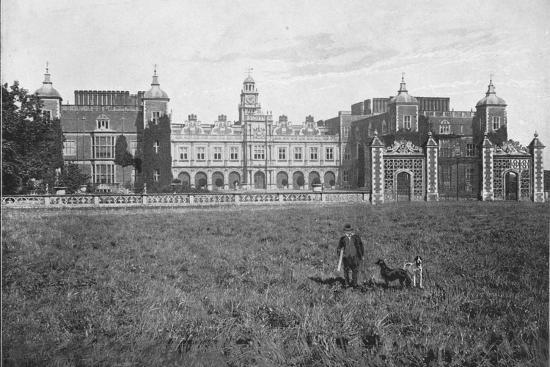 'Hatfield House, South Front', c1896-Unknown-Photographic Print
