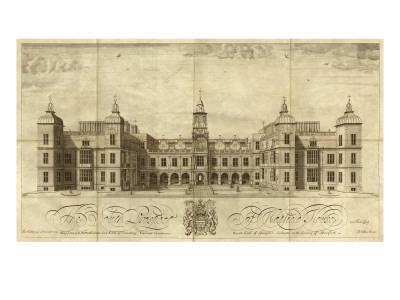 Hatfield House--Art Print