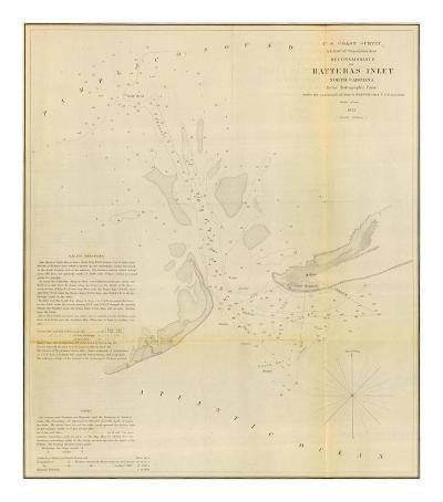 Hatteras Inlet, North Carolina, c.1853--Art Print