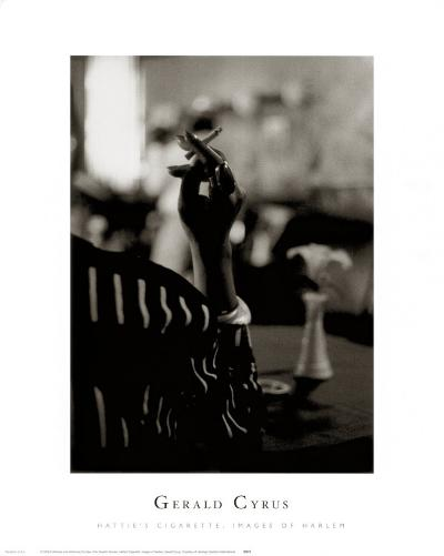 Hattie's Cigarette, Images of Harlem-Gerald Cyrus-Art Print