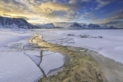 Haukland Lofoten Islands Norway Europe-ClickAlps-Photographic Print
