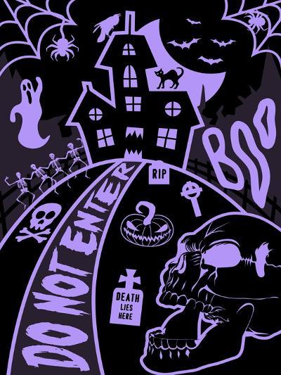 Haunted Fun House-Jace Grey-Art Print