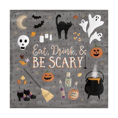 Haunted Halloween I-Laura Marshall-Art Print