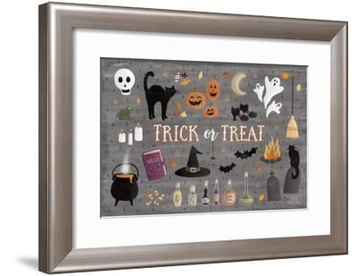 Haunted Halloween III-Laura Marshall-Framed Art Print
