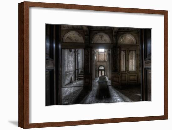 Haunted Interior Bathroom-Nathan Wright-Framed Photographic Print
