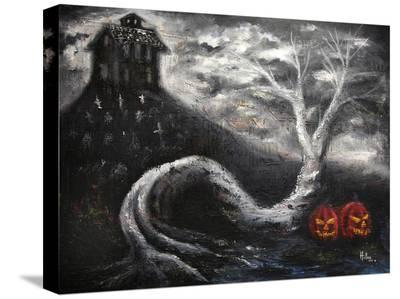 Haunted Mansion-Bobby Holland-Stretched Canvas Print