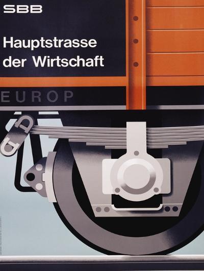 Hauptstrasse Der Wirtschaft Poster-Hans Hartmann-Giclee Print