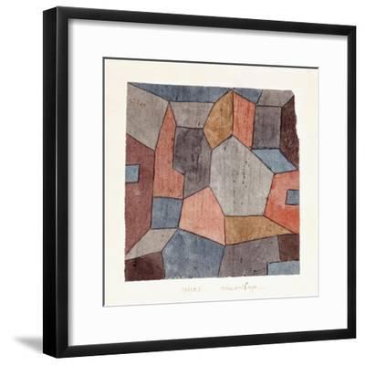Hauser-Enge-Paul Klee-Framed Premium Giclee Print