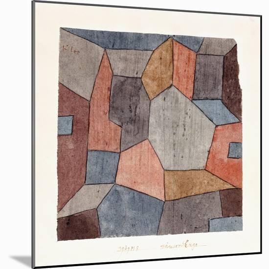 Hauser-Enge-Paul Klee-Mounted Premium Giclee Print