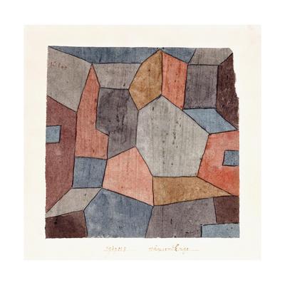 Hauser-Enge-Paul Klee-Giclee Print
