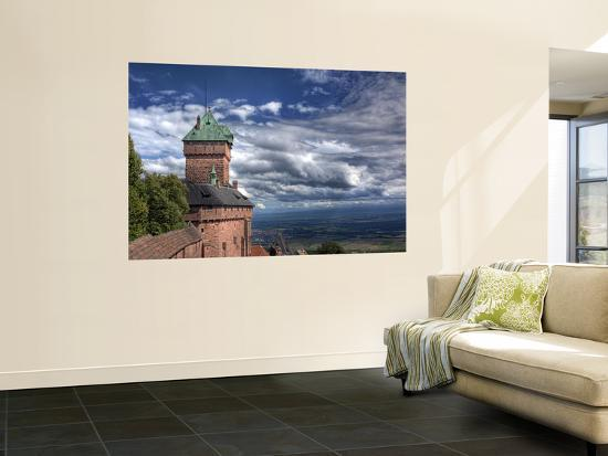Haut-Koenigsbourg Castle, Orschwiller, Alsace, France-Ivan Vdovin-Wall Mural