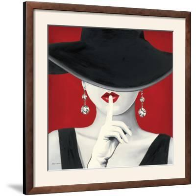 Haute Chapeau Rouge I-Marco Fabiano-Framed Photographic Print