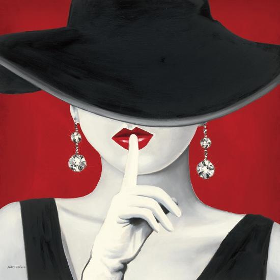 Haute Chapeau Rouge I-Marco Fabiano-Art Print