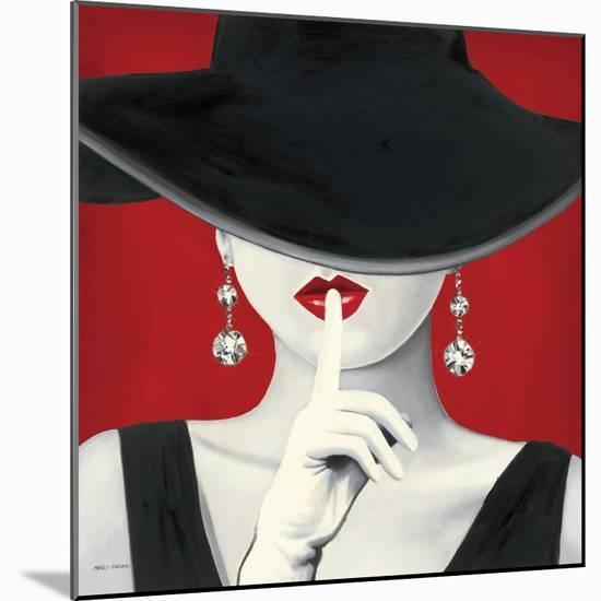 Haute Chapeau Rouge I-Marco Fabiano-Mounted Art Print