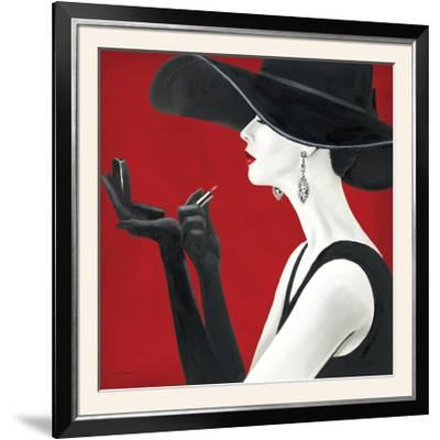 Haute Chapeau Rouge II-Marco Fabiano-Framed Photographic Print