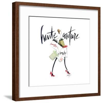 Haute Couture 2-Alicia Zyburt-Framed Art Print