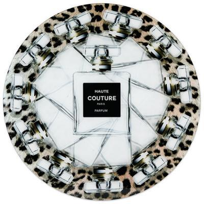 Haute Couture - Free Floating Circular Tempered Glass Graphic Wall Art