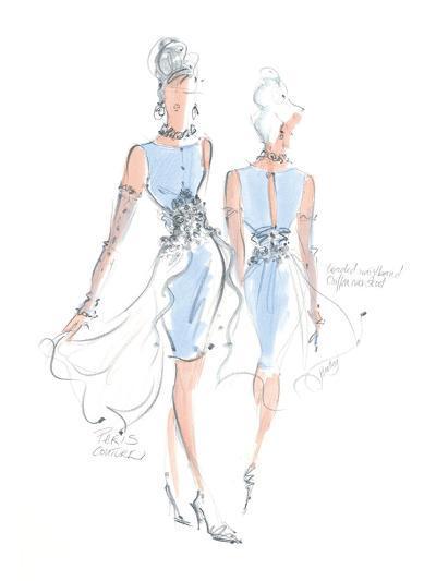 Haute Couture III-Jane Hartley-Art Print