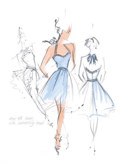 Haute Couture IV-Jane Hartley-Art Print