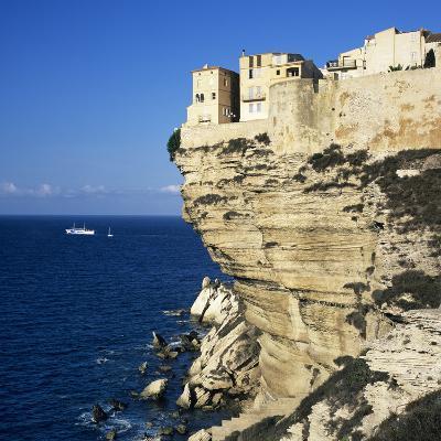 Haute Ville on Cliff Edge, Bonifacio, South Corsica, Corsica, France, Mediterranean, Europe-Stuart Black-Photographic Print