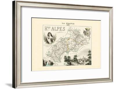 Hautes-Alpes-Alexandre Vuillemin-Framed Art Print