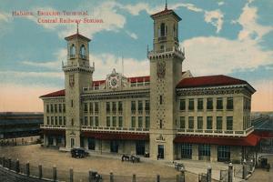 Havana Central Railway Station, Cuba, C1912