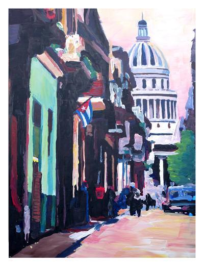 Havana Cuba Street Scene-M Bleichner-Art Print