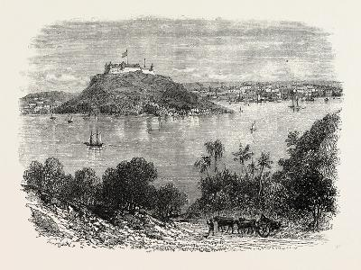 Havannah Harbour, Showing Where the Fifty Invaders Were Shot, 1870S--Giclee Print