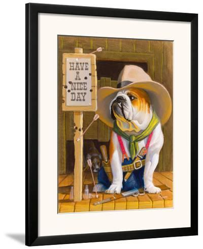 Have A Nice Day-Bryan Moon-Framed Giclee Print