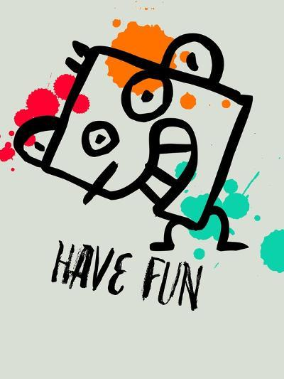 Have Fun 1-Lina Lu-Art Print