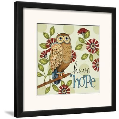 Have Hope-Karla Dornacher-Framed Art Print