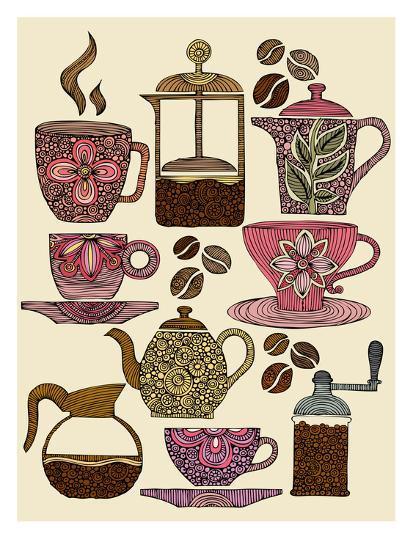 Have Some Coffee-Valentina Ramos-Art Print